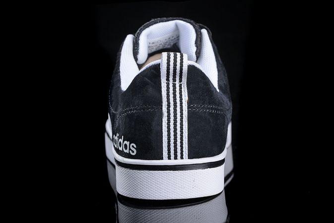 sports shoes cbe4a f750a ... Men  s Women  s Adidas Neo Pace VS Low Shoes Black ...