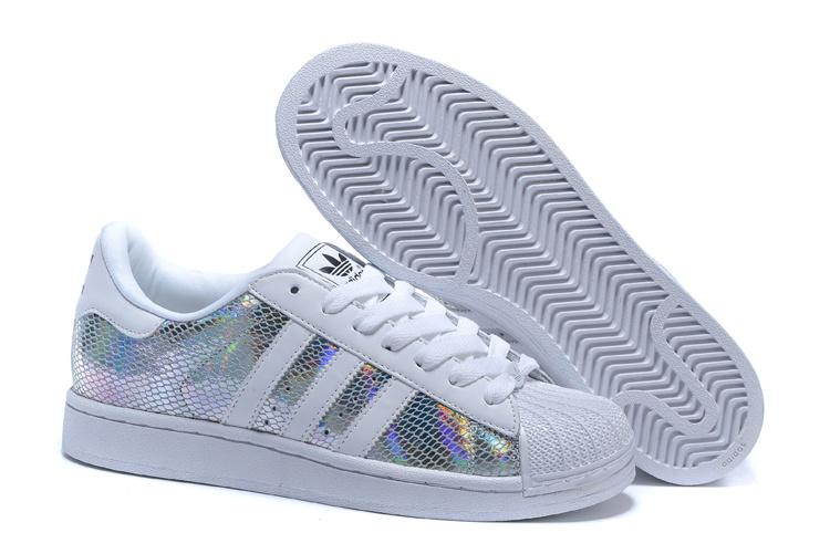 90caccd9ff25 Men s Women s Adidas Originals Superstar II Shoes White Multicolor ...