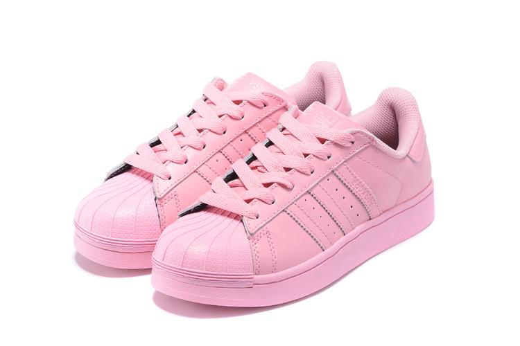 huge selection of a65c9 8aa74 ... Women  s Adidas Originals Superstar Supercolor Pack Shoes Light Pink Light  Pink  ...