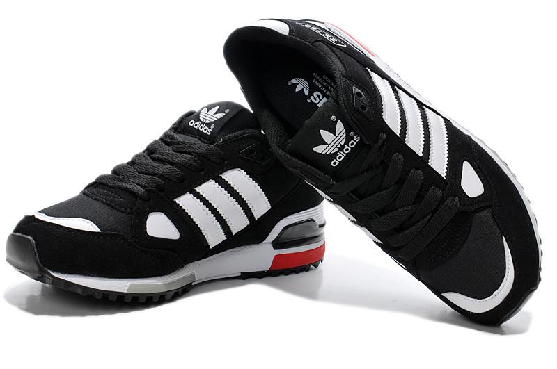 ecdba6f07 Men s Women s Adidas Originals ZX 750 Shoes Core Black Running White ...