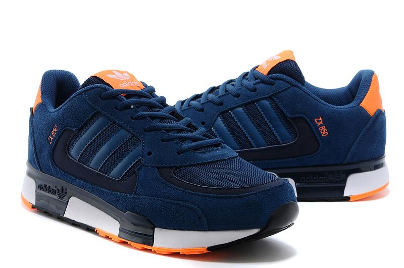 ab71e66d436ca Men s Women s Adidas Originals ZX 850 Shoes Tribal Blue Tribal Blue ...