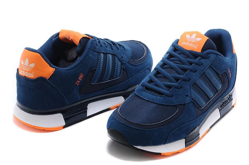 2eccb02b6 Men s Women s Adidas Originals ZX 850 Shoes Tribal Blue Tribal Blue ...