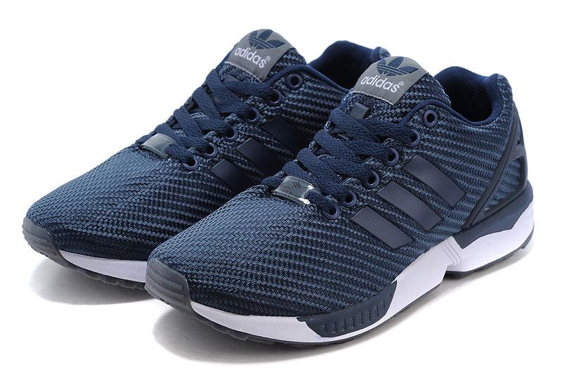 cc90942034b7 Men s adidas Originals ZX Flux Shoes Navy Blue White  Adidas2016 ...