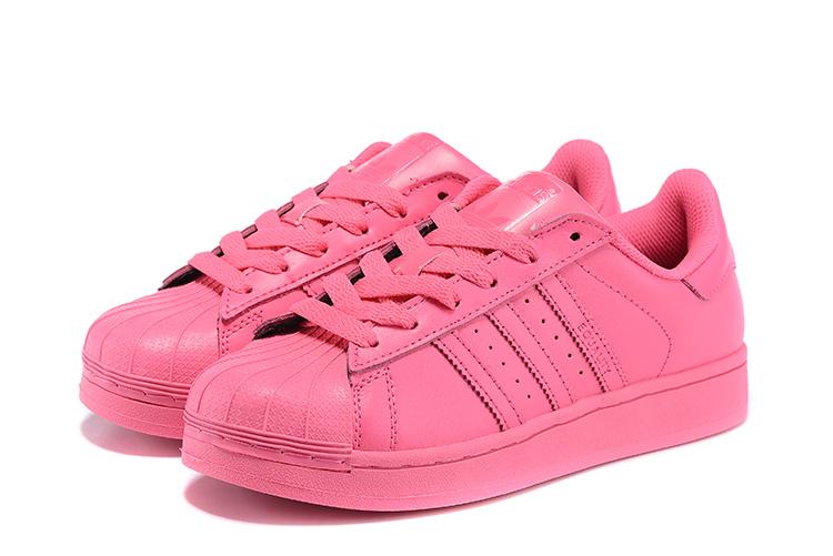 more photos 2bfe2 e4292 ... Women  s Adidas Originals Superstar Supercolor PHARRELL WILLIAMS Shoes Solar  Pink S41839 ...