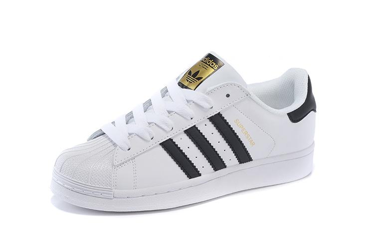 reputable site 8020c 32eba Whiteblack 2016 Originals Men swomen s Superstar Adidas Shoes qw4qR