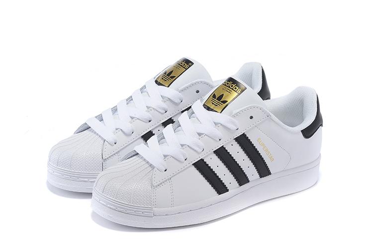 timeless design 9d251 f84c5 ... 2016 MensWomens Adidas Originals Superstar Shoes White ...