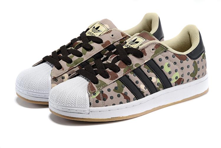 leopard adidas superstar 2 shell schoenen