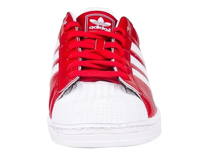 Men'sWomen's Adidas Originals Superstar 2 Casual Shoes Red
