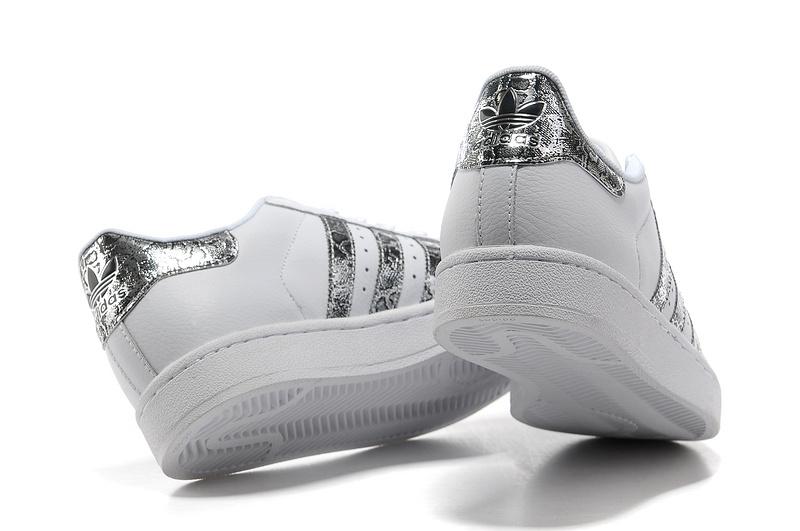 adidas originals superstar dames zilver