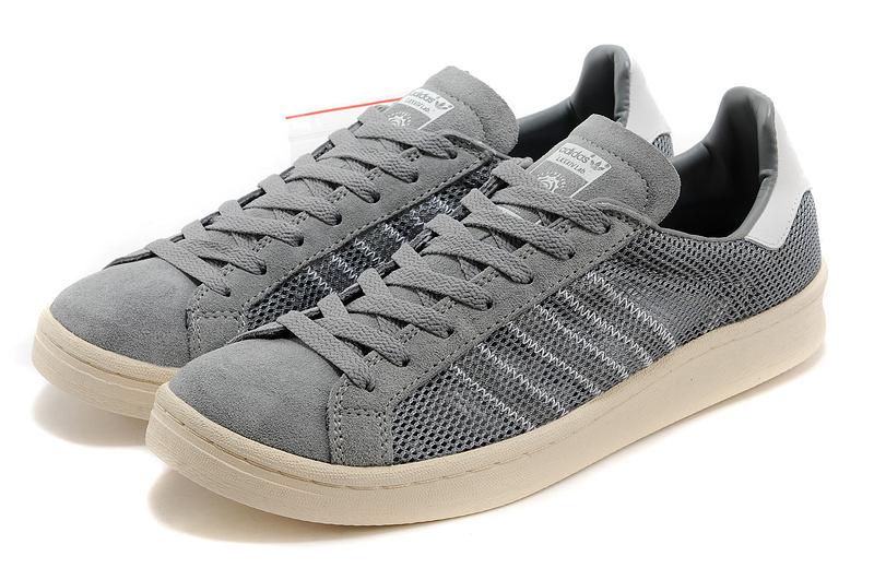best website 6d145 ad3fa ... MensWomens Adidas Originals Campus 80s Casual Shoes Grey ...