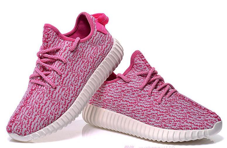 pretty nice 45ef8 62b9c ... Women  s Adidas Yeezy Boost 350 Shoes Pink ...