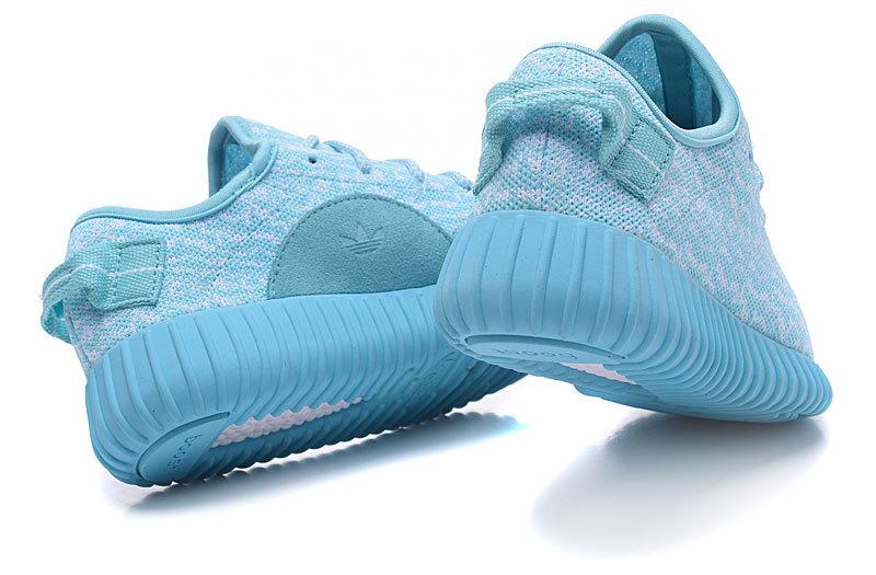 Women's Adidas Yeezy Boost 350 Shoes Light Blue [Adidas2016